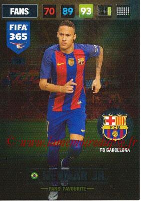 2016-17 - Panini Adrenalyn XL FIFA 365 - N° 056 - NEYMAR Jr. (FC Barcelone) (Fans' Favourite)
