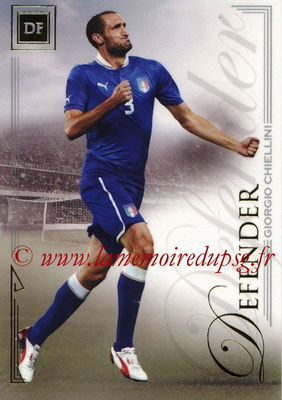 2014 - Futera World Football Unique - N° 012 - Giorgio CHIELLINI (Defender)