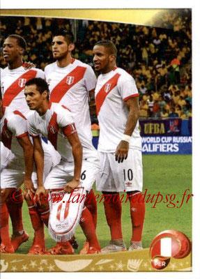 Panini Copa America Centenario USA 2016 Stickers - N° 184 - Equipe Perou 2