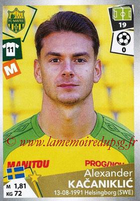 2017-18 - Panini Ligue 1 Stickers - N° 324 - Alexander KACANIKLIC (Nantes)