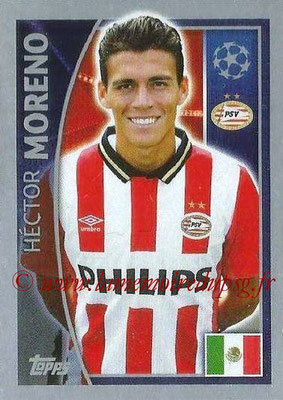 2015-16 - Topps UEFA Champions League Stickers - N° 093 - Héctor MORENO (PSV Eindhoven)
