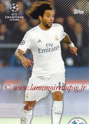 2015-16 - Topps UEFA Champions League Showcase Soccer - N° 011 - MARCELO (Real Madrid CF)