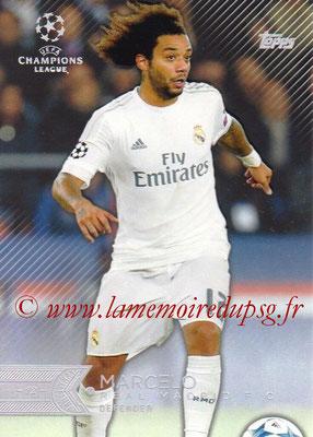 2015-16 - Topps UEFA Champions League Showcase Soccer - N° 011 - MARCELO (Real Madrid CF)