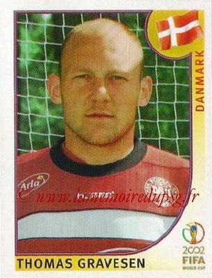 2002 - Panini FIFA World Cup Stickers - N° 087 - Thomas GRAVESEN (Danemark)