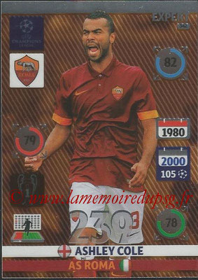 2014-15 - Adrenalyn XL champions League N° 342 - Ashley COLE (AS Roma) (Expert)