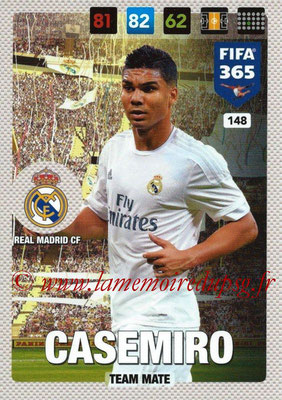 2016-17 - Panini Adrenalyn XL FIFA 365 - N° 148 - CASEMIRO (Real Madrid CF)