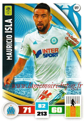 2016-17 - Panini Adrenalyn XL Ligue 1 - N° 177 - Mauricio ISLA (Marseille)