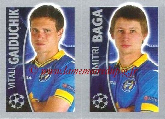 2015-16 - Topps UEFA Champions League Stickers - N° 363 - Vitali GAIDUCHIK + Dmitri BAGA (FC Bate Borisov)
