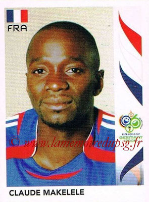 2006 - Panini FIFA World Cup Germany Stickers - N° 464 - Claude MAKELELE (France)