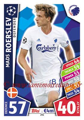 2017-18 - Topps UEFA Champions League Match Attax - N° 296 - Mads ROERSLEV (FC Copenhague)