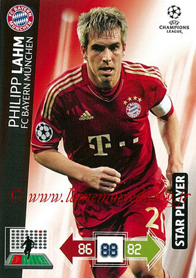 2012-13 - Adrenalyn XL champions League N° 044 - Philipp LAHM (FC Bayern Munich) (Star PLayer)