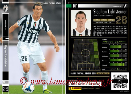 Panini Football League 2014 - PFL08 - N° 009 - Stephan LICHTSTEINER (Juventus FC)