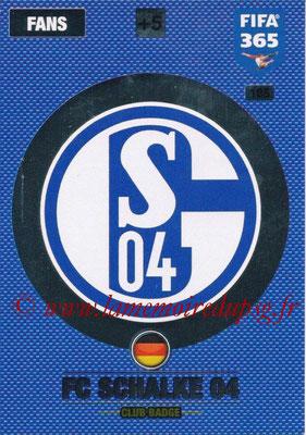 2016-17 - Panini Adrenalyn XL FIFA 365 - N° 185 - Logo FC Schalke 04