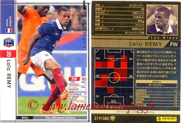 2013-14 - WCCF - N° 319 - Loic REMY (France)