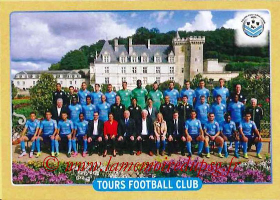 2015-16 - Panini Ligue 1 Stickers - N° 518 - Equipe FC Tours