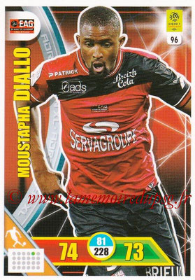 2017-18 - Panini Adrenalyn XL Ligue 1 - N° 096 - Mustapha DIALLO (Guingamp)