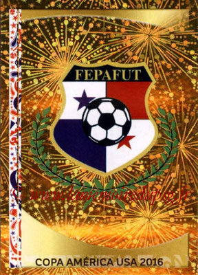Panini Copa America Centenario USA 2016 Stickers - N° 350 - Logo Panama
