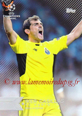 2015-16 - Topps UEFA Champions League Showcase Soccer - N° 164 - Iker CASILLAS (FC Porto)