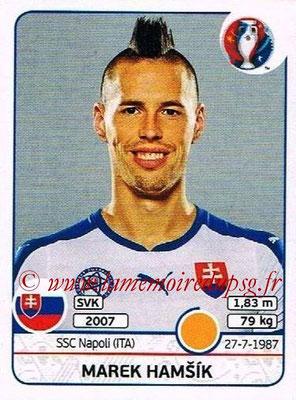 Panini Euro 2016 Stickers - N° 225 - Marek HAMSIK (Slovénie)