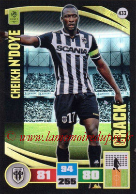 2016-17 - Panini Adrenalyn XL Ligue 1 - N° 433 - Cheikh N'DOYE (Angers) (Crack)