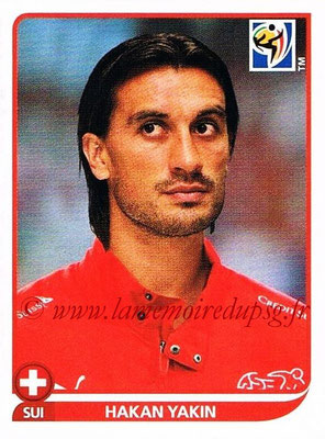 2010 - Panini FIFA World Cup South Africa Stickers - N° 595 - Hakan YAKIN (Suisse)