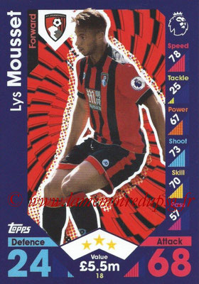 2016-17 - Topps Match Attax Premier League - N° 018