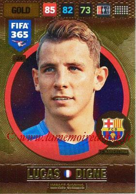 2016-17 - Panini Adrenalyn XL FIFA 365 - N° 024 - Lucas DIGNE (FC Barcelone) (Impact Signing)