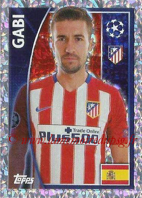 2015-16 - Topps UEFA Champions League Stickers - N° 184 - GABI (Club Atlético de Madrid)
