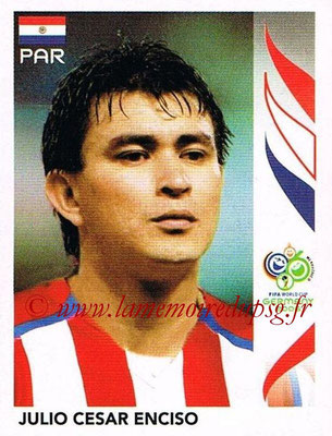 2006 - Panini FIFA World Cup Germany Stickers - N° 123 - Julio Cesar ENCISCO (Paraguay)
