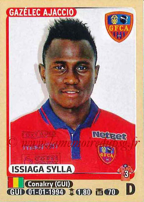 2015-16 - Panini Ligue 1 Stickers - N° 011 - Issiaga SYLLA (Gazélec Ajaccio) (Top Recrue)