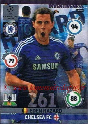 2014-15 - Adrenalyn XL champions League Update edition N° UE099 - Eden HAZARD (Chelsea FC) (Inventiveness)