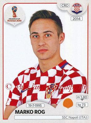 2018 - Panini FIFA World Cup Russia Stickers - N° 324 - Marko ROG (Croatie)