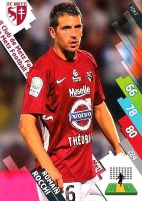 N° 147 - FCM-07 - Romain ROCCHI (2002-04, PSG > 2014-15, Metz)