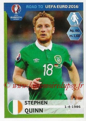 Panini Road to Euro 2016 Stickers - N° 152 - Stephen QUINN (Eire)