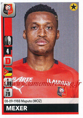 2018-19 - Panini Ligue 1 Stickers - N° 407 - MEXER (Rennes)