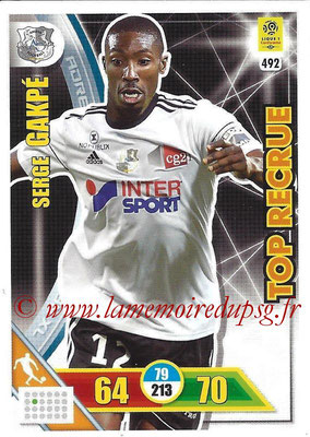 2017-18 - Panini Adrenalyn XL Ligue 1 - N° 492 - Serge GAKPE (Amiens) (Top Recrue)
