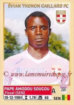 2014-15 - Panini Ligue 1 Stickers - N° 094 - Pape Amodou SOUGOU (Evian Thonon Gaillard FC)