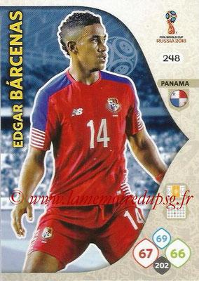 2018 - Panini FIFA World Cup Russia Adrenalyn XL - N° 248 - Edgar BARCENAS (Panama)