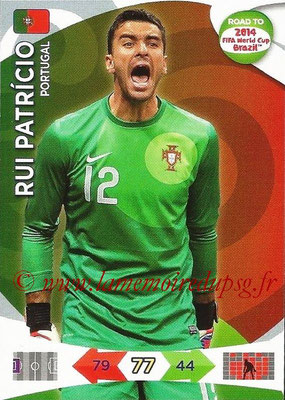 2014 - Panini Road to FIFA World Cup Brazil Adrenalyn XL - N° 148 - Rui PATRICIO (Portugal)
