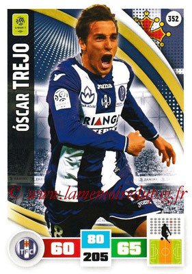 2016-17 - Panini Adrenalyn XL Ligue 1 - N° 352 - Oscar TREJO (Toulouse)