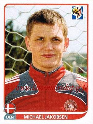 2010 - Panini FIFA World Cup South Africa Stickers - N° 359 - Michael JAKOBSEN (Danemark)