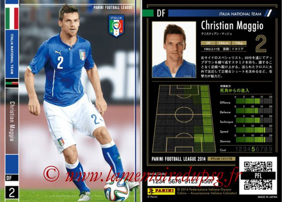 Panini Football League 2014 - PFL08 - N° 131 - Christian MAGGIO (Italie)