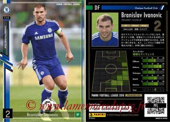 Panini Football League 2015 - PFL09 - N° 061 - Branislav IVANOVIC (Chelsea FC)