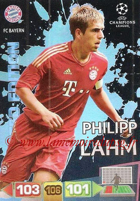 2011-12 - Panini Champions League Cards - N° LE11 - Philipp LAHM (FC Bayern Munich) (Limited Edition)