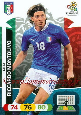 Panini Euro 2012 Cards Adrenalyn XL - N° 121 - Riccardo MONTOLIVO (Italie)