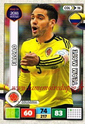 2018 - Panini Road to FIFA World Cup Russia Adrenalyn XL - N° COL16 - FALCAO (Colombie)