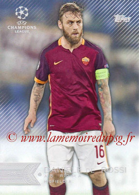 2015-16 - Topps UEFA Champions League Showcase Soccer - N° 119 - Daniel DE ROSSI (AS Roma)