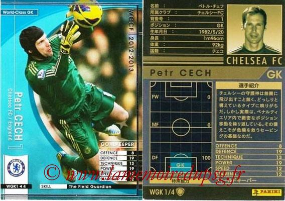 2012-13 - WCCF - N° WGK1 - Petr CECH (Chelsea FC) (World Class GK)