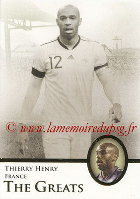 2013 - Futera World Football Unique - N° 110 - Thierry HENRY (France) (The Greats)