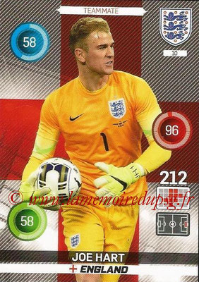 Panini England 2016 Adrenalyn XL - N° 010